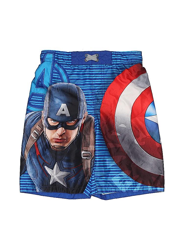 Marvel Boys Board Shorts Size M (Youth)