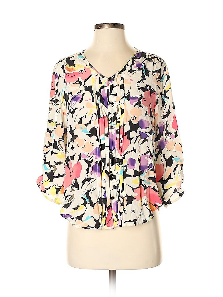 Yumi Kim Women 3/4 Sleeve Blouse Size S