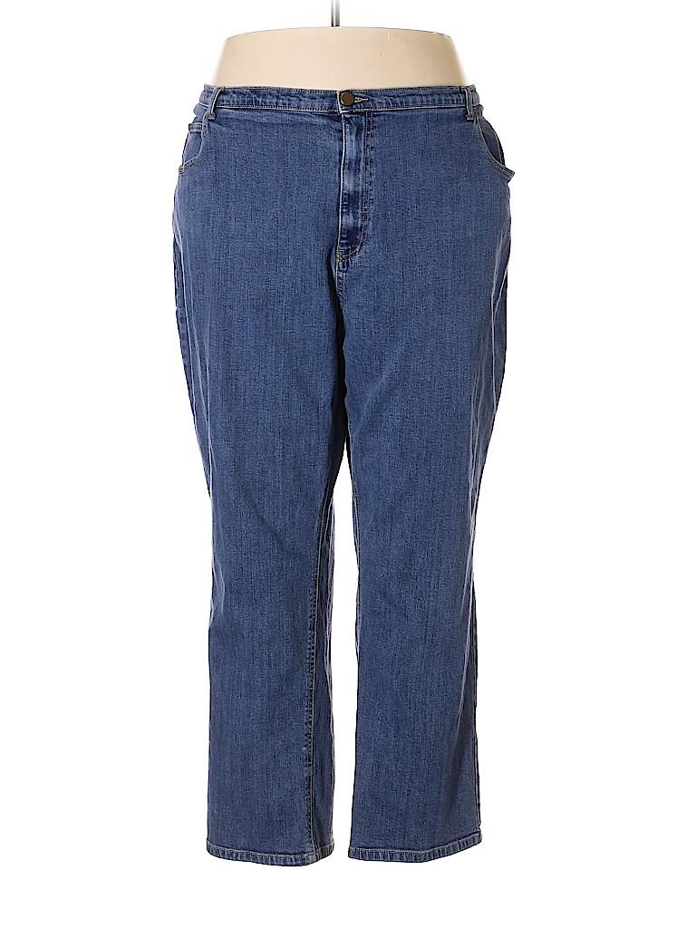 Catherines Women Jeans Size 32 (Plus)