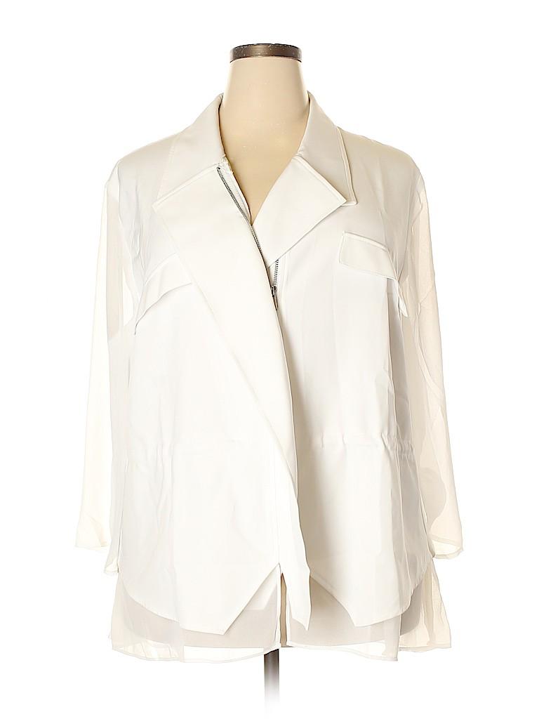 Lane Bryant Women Jacket Size 22 (Plus)