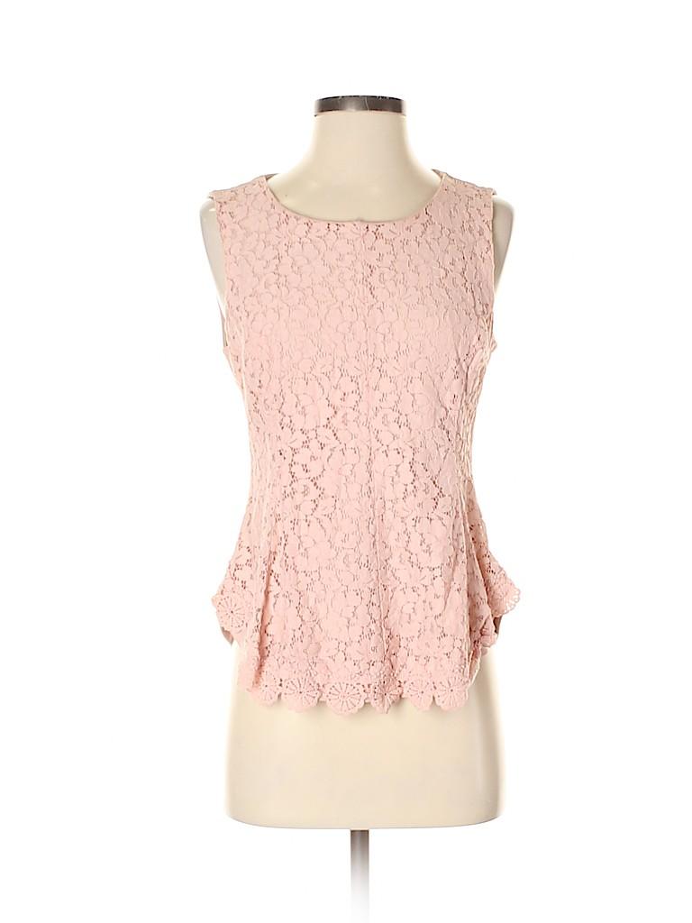 7th Avenue Design Studio New York & Company Women Sleeveless Blouse Size S