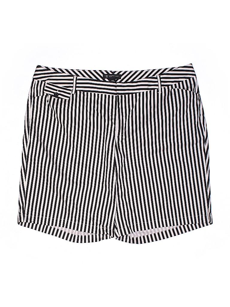 INC International Concepts Women Khaki Shorts Size 18 (Plus)