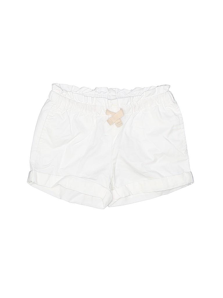 Hanna Andersson Girls Khaki Shorts Size 110 (CM)