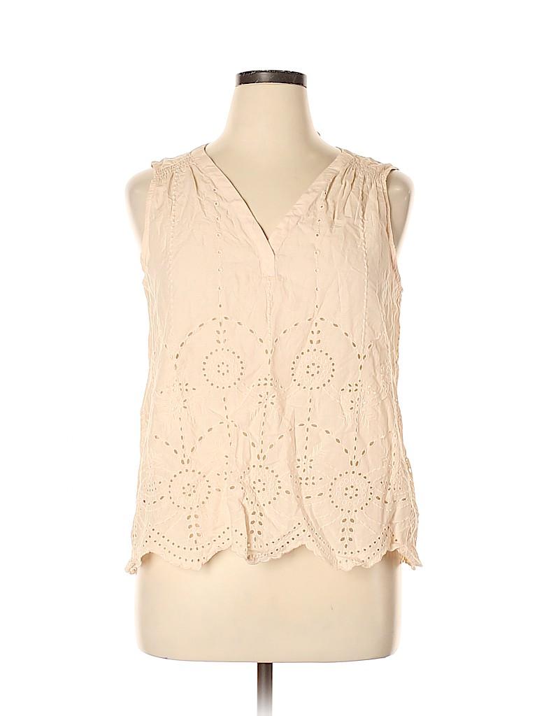 Gap Women Sleeveless Blouse Size L