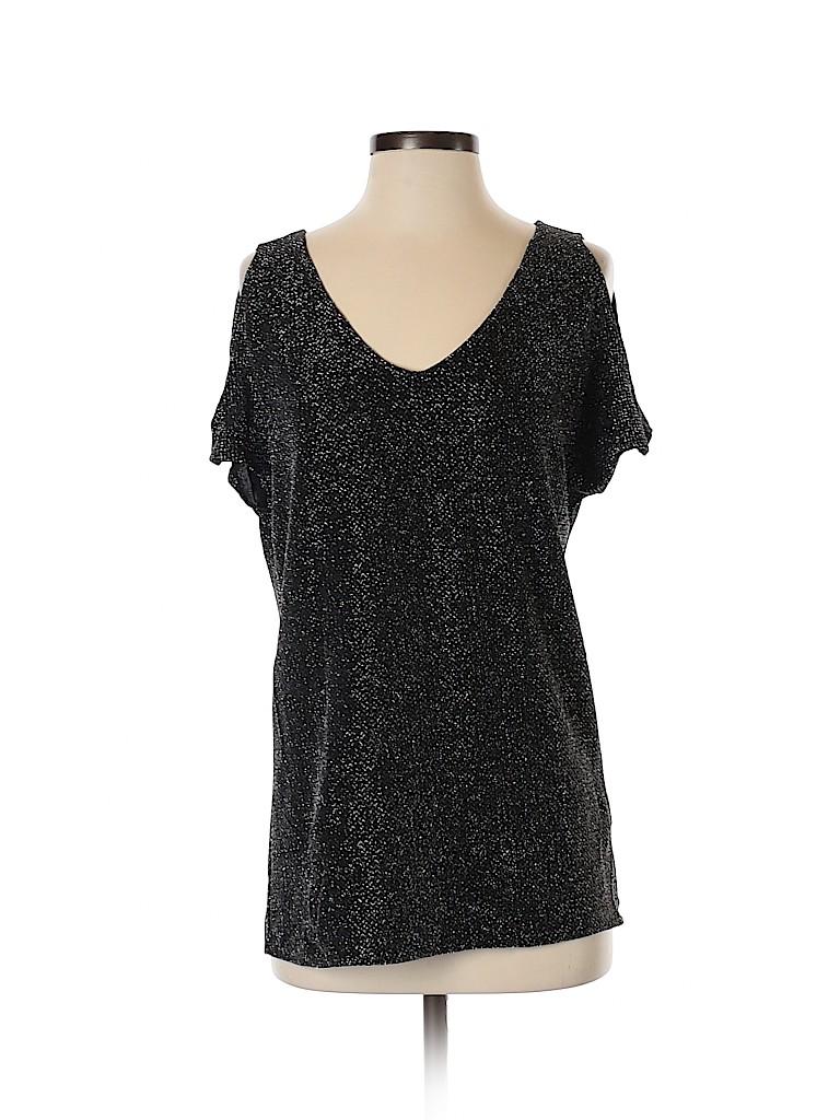 BB Dakota Women Short Sleeve Top Size S