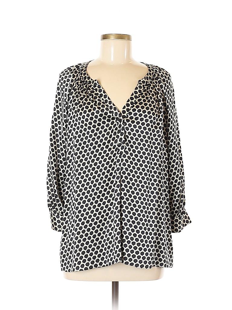 Joie Women 3/4 Sleeve Silk Top Size M