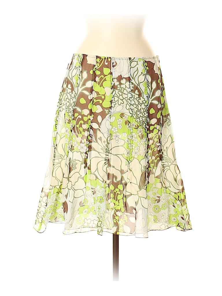 Moschino Jeans Women Silk Skirt Size 8