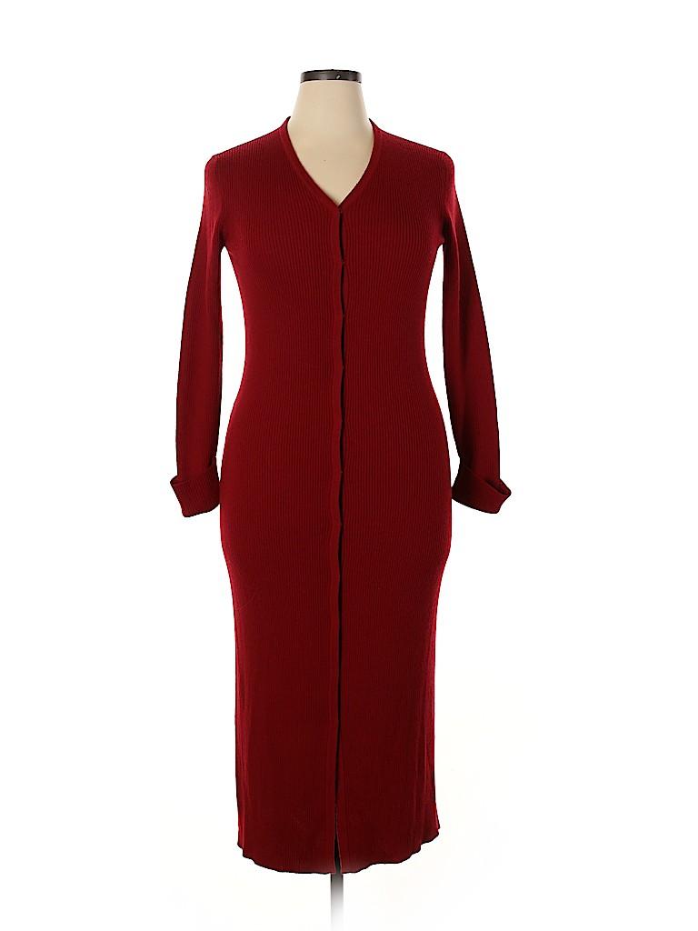 Willi Smith Women Casual Dress Size L