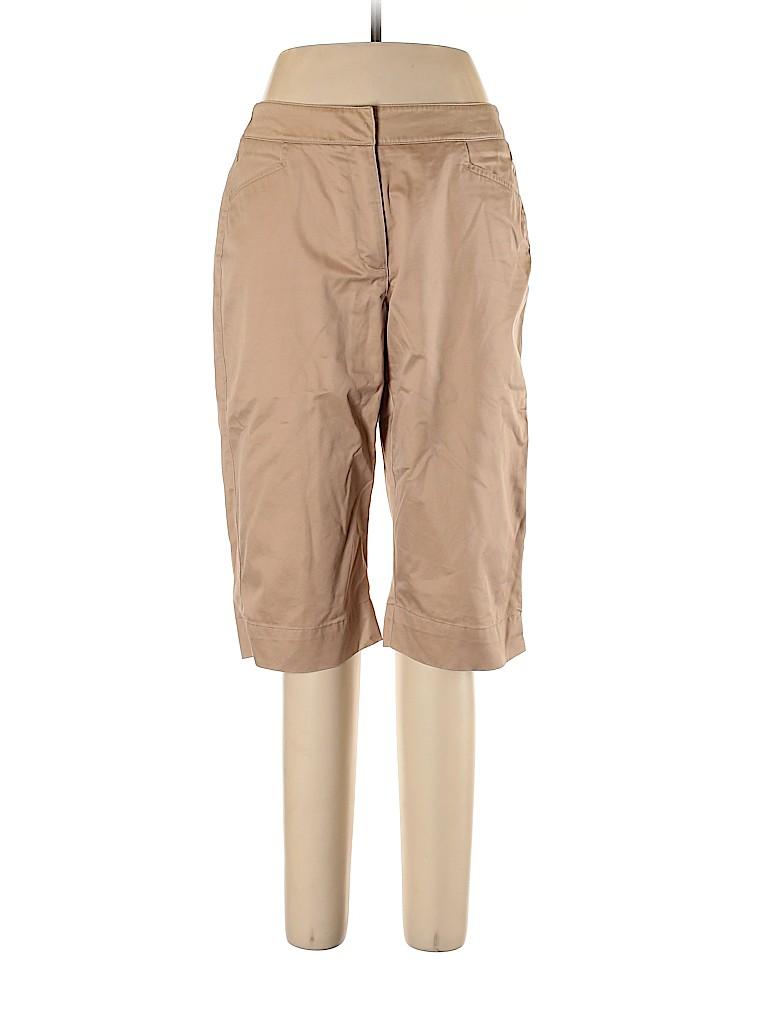 Liz Claiborne Women Khakis Size 12 (Petite)
