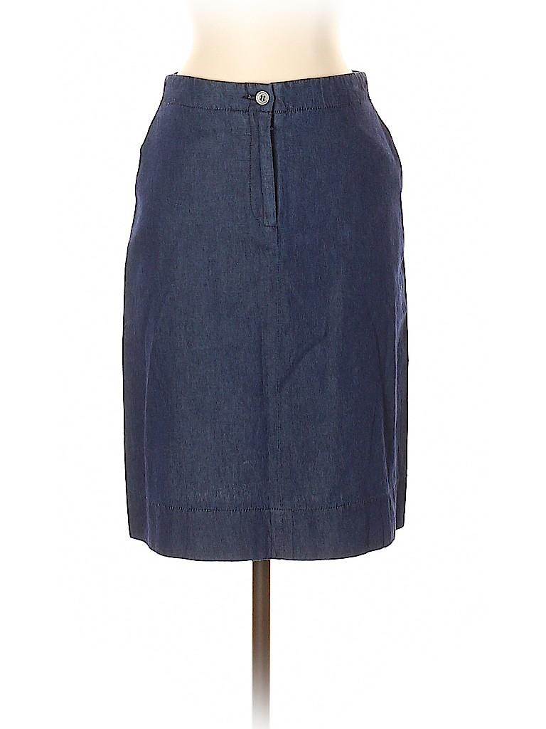 BCBGMAXAZRIA Women Denim Skirt Size 2