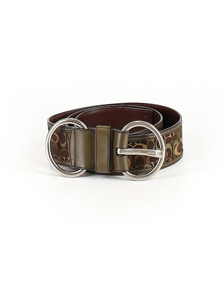 Coach Women Leather Belt Size M