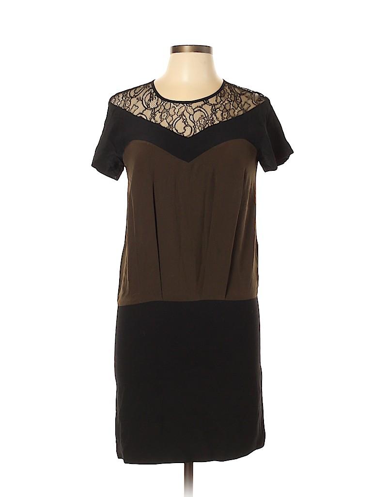Sandro Women Casual Dress Size Med (2)