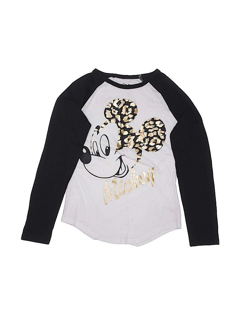Disney Girls Short Sleeve T-Shirt Size L (Kids)