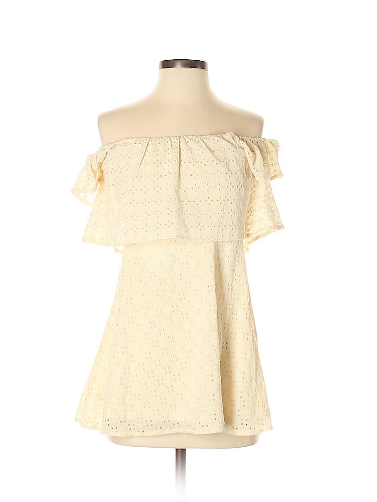 TOBI Women Short Sleeve Blouse Size S