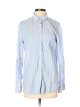997b7b98b41f06 Express Long Sleeve Button-Down Shirt Size M