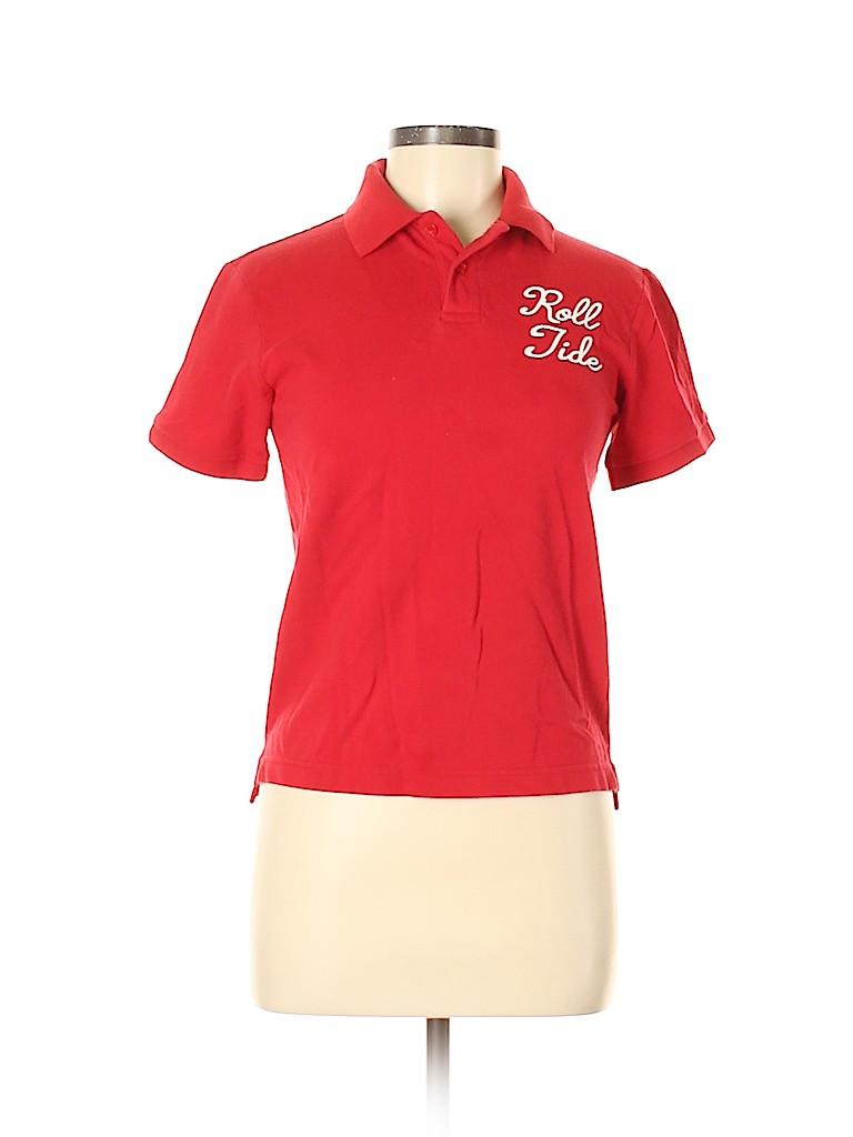 Cherokee Women Short Sleeve Polo Size M
