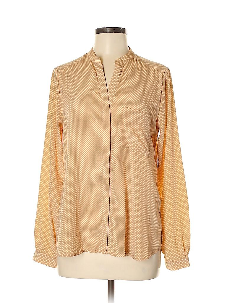 Cynthia Rowley TJX Women Long Sleeve Blouse Size M