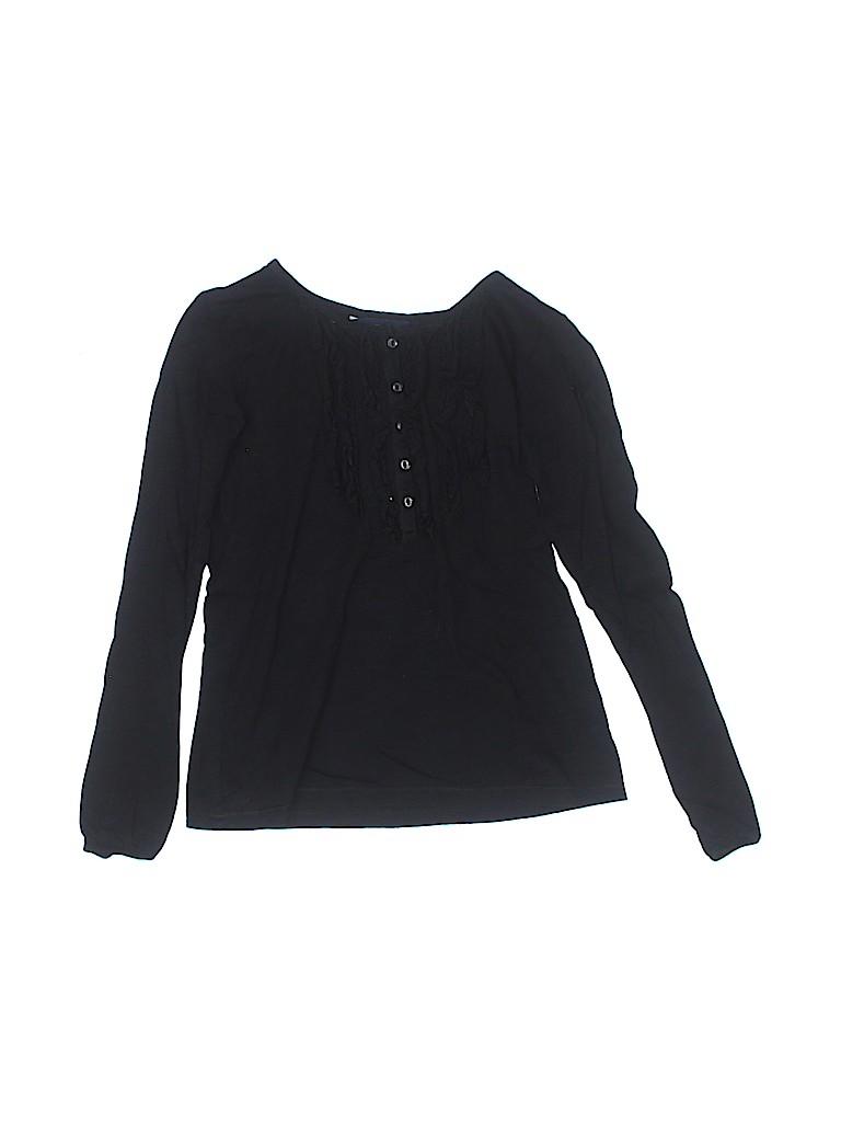 Ralph Lauren Girls Long Sleeve Henley Size 8 - 10