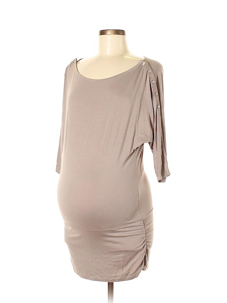 Seraphine Women 3/4 Sleeve Top Size 6 (Maternity)