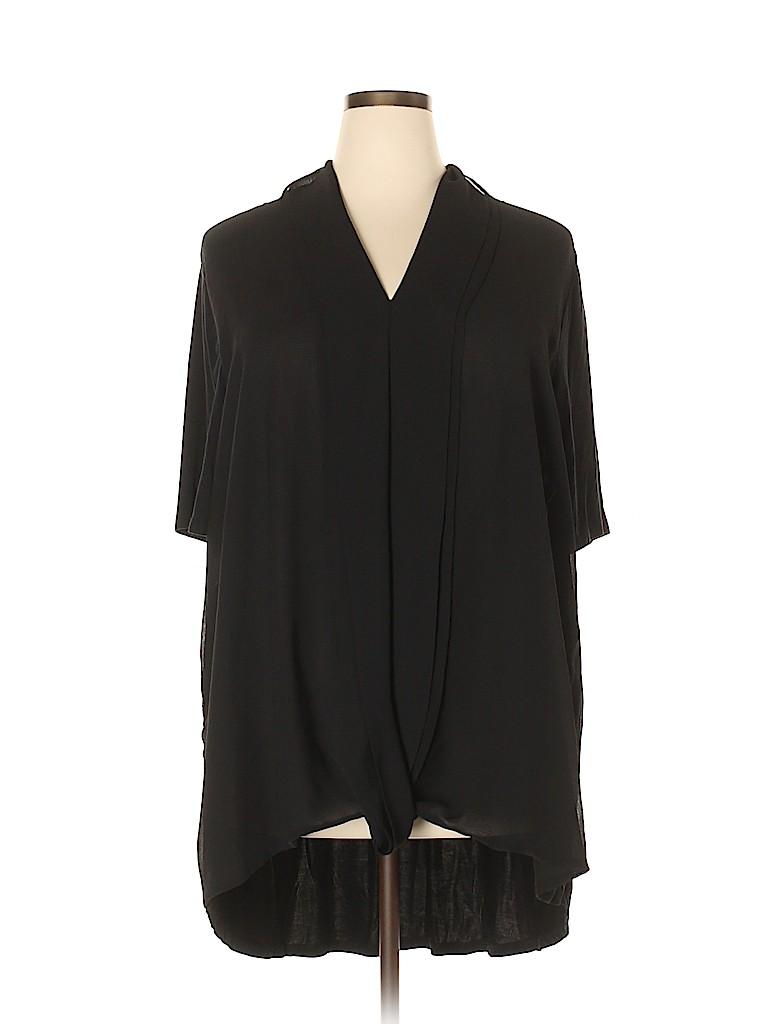 H By Halston Women Short Sleeve Blouse Size 3X (Plus)