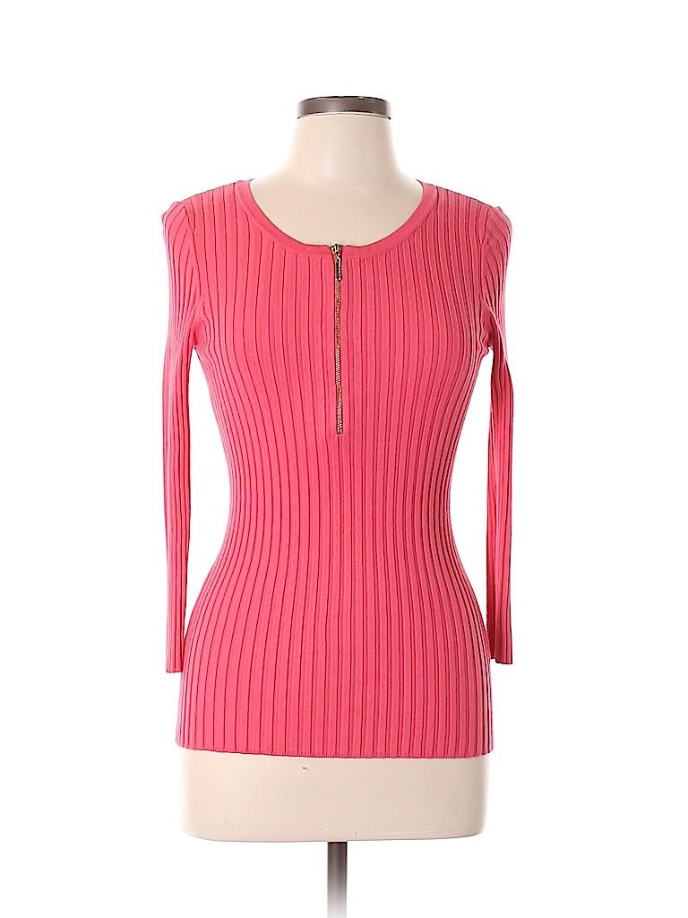 INC International Concepts Women 3/4 Sleeve Top Size L