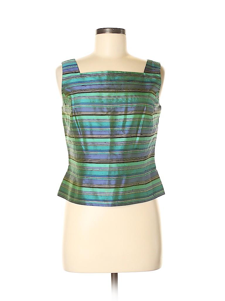 Carlisle Women Sleeveless Silk Top Size 8