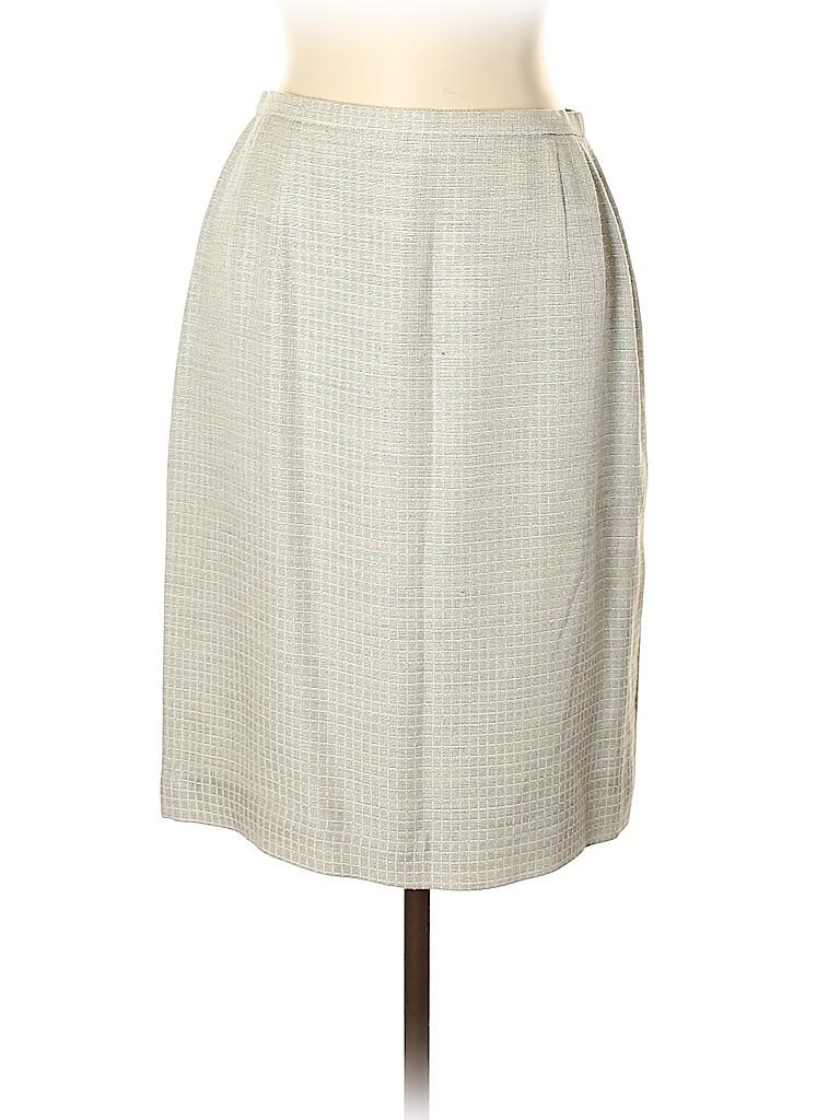 Carlisle Women Silk Skirt Size 14