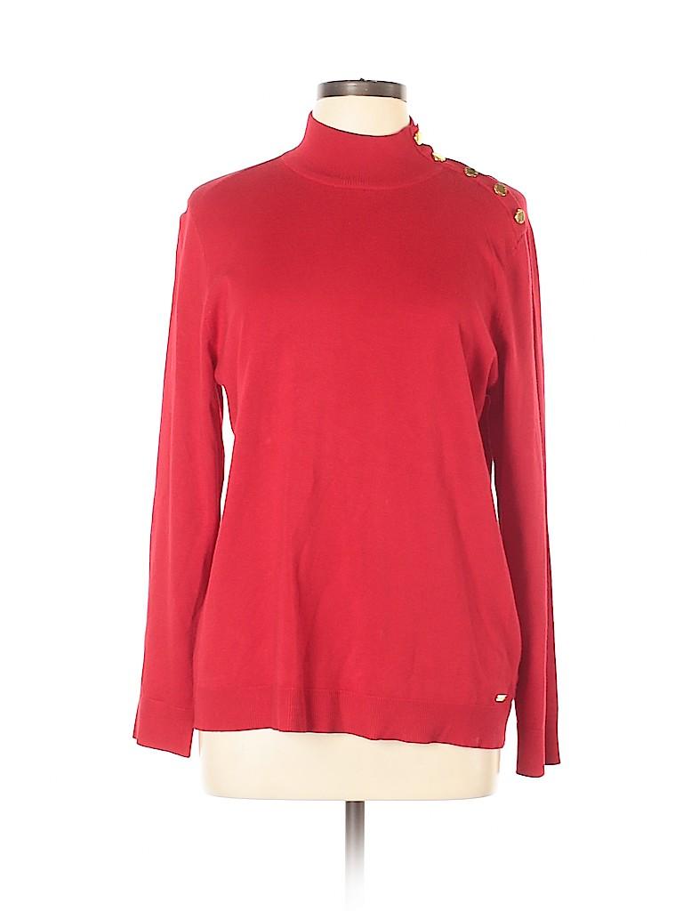 Calvin Klein Women Pullover Sweater Size L