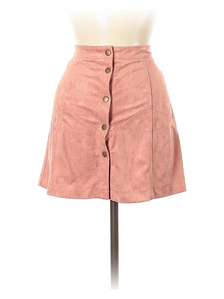 She + Sky Women Casual Skirt Size M