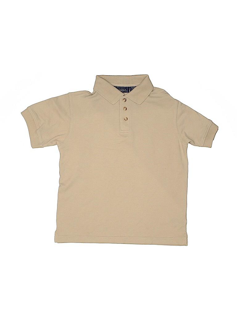 Basic Editions Boys Short Sleeve Polo Size 10 - 12
