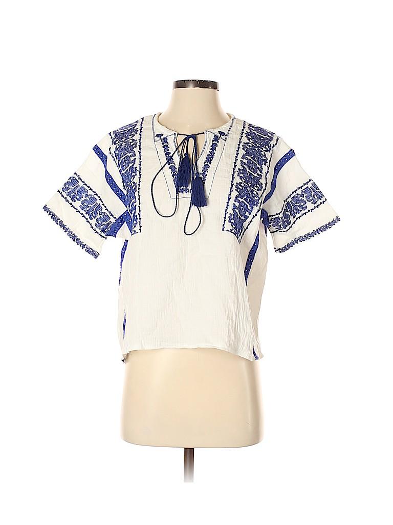 Velzera Women Short Sleeve Blouse Size S