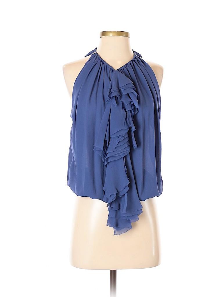 Robert Rodriguez Women Sleeveless Silk Top Size 4