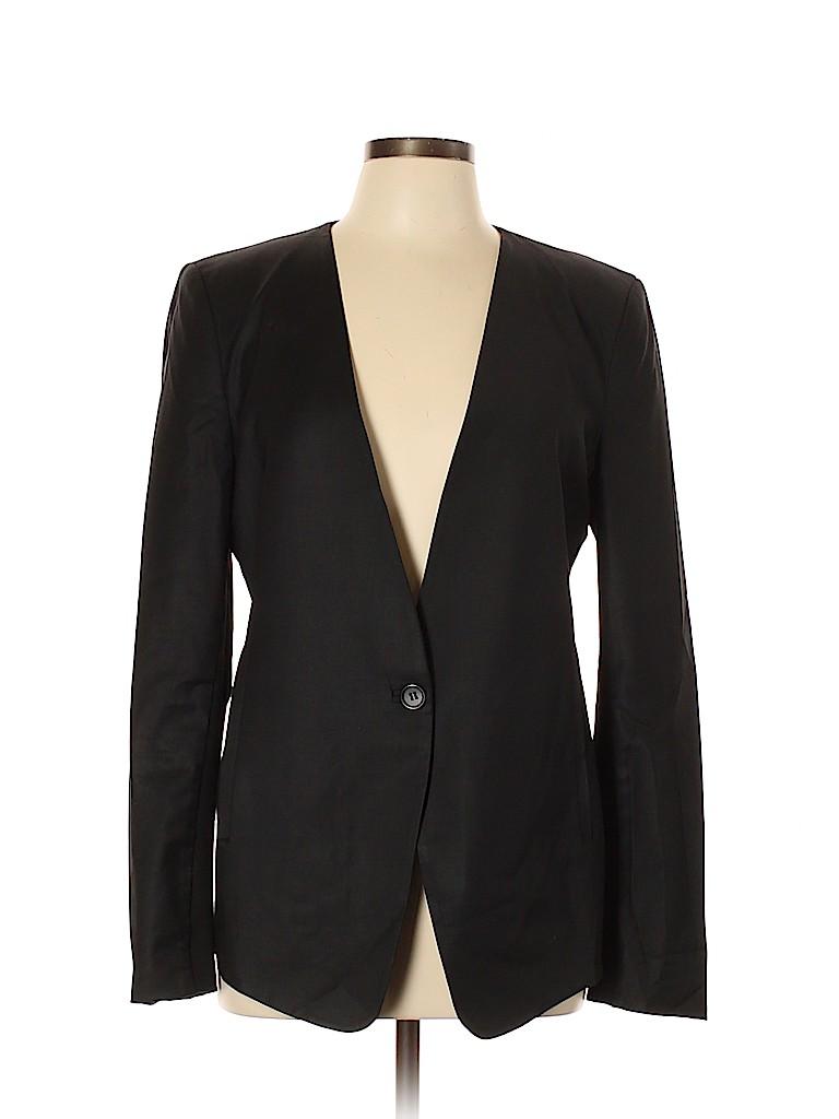BCBGMAXAZRIA Women Wool Blazer Size L