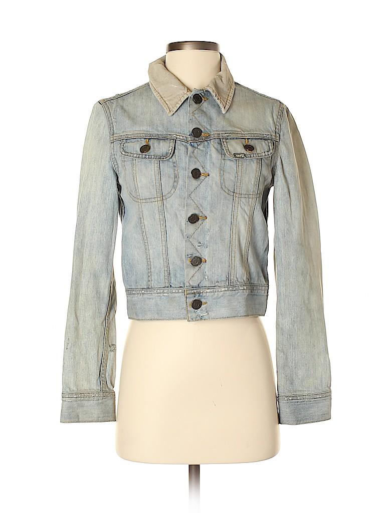 TNA Women Denim Jacket Size XS