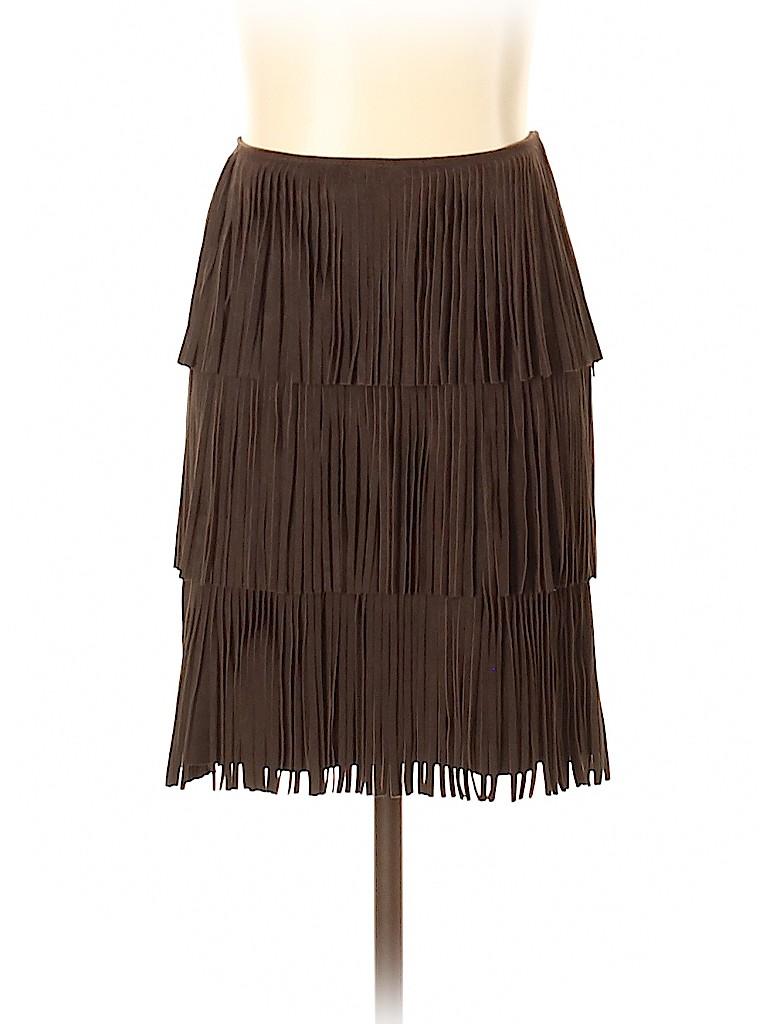 Michael Kors Women Leather Skirt Size 0