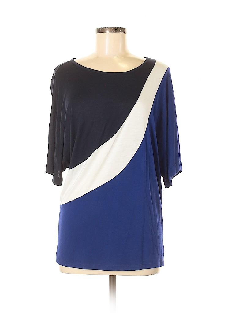 INC International Concepts Women Short Sleeve Top Size M