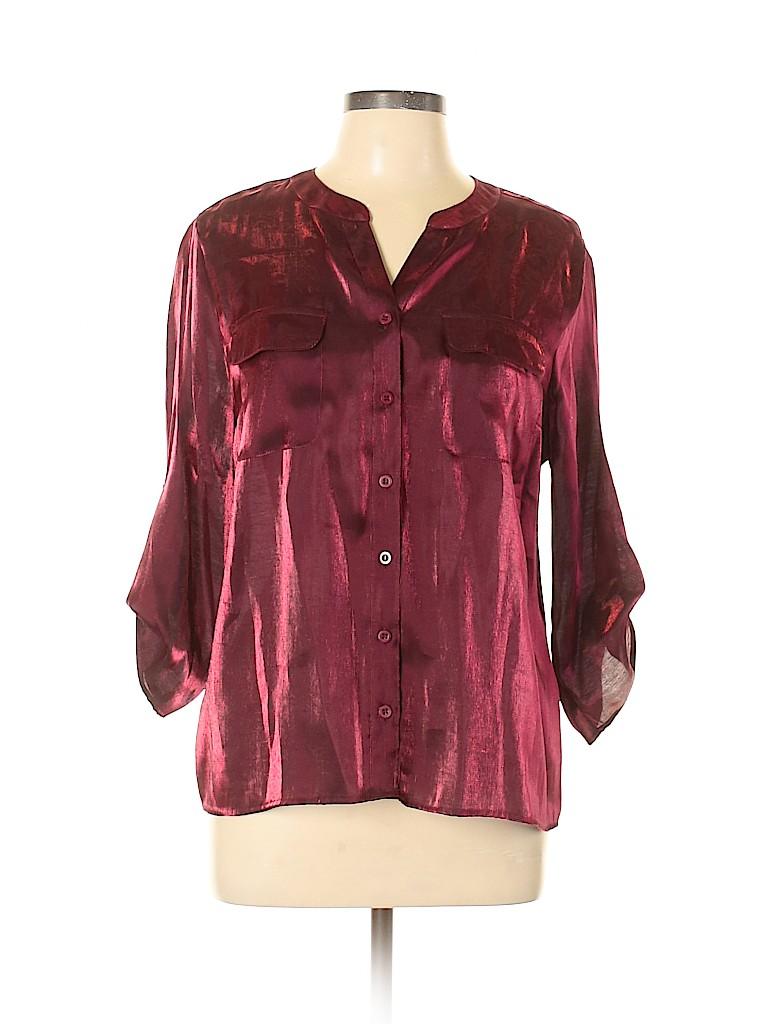 Elementz Women 3/4 Sleeve Blouse Size L