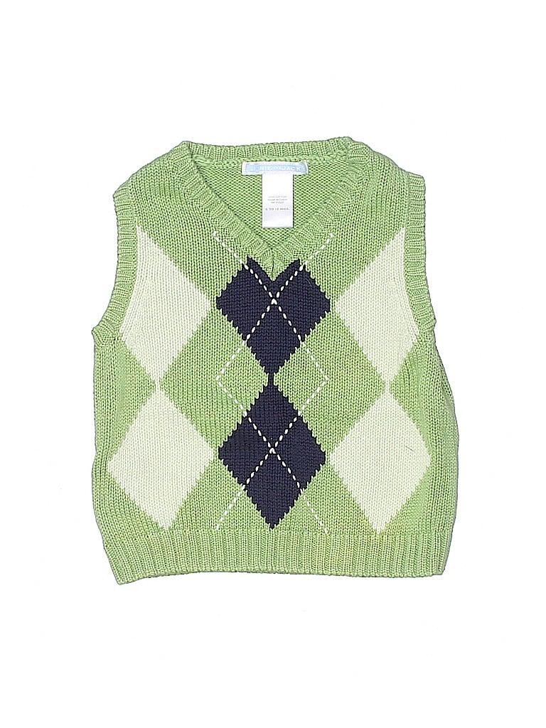 Janie and Jack Boys Sweater Vest Size 6-12 mo