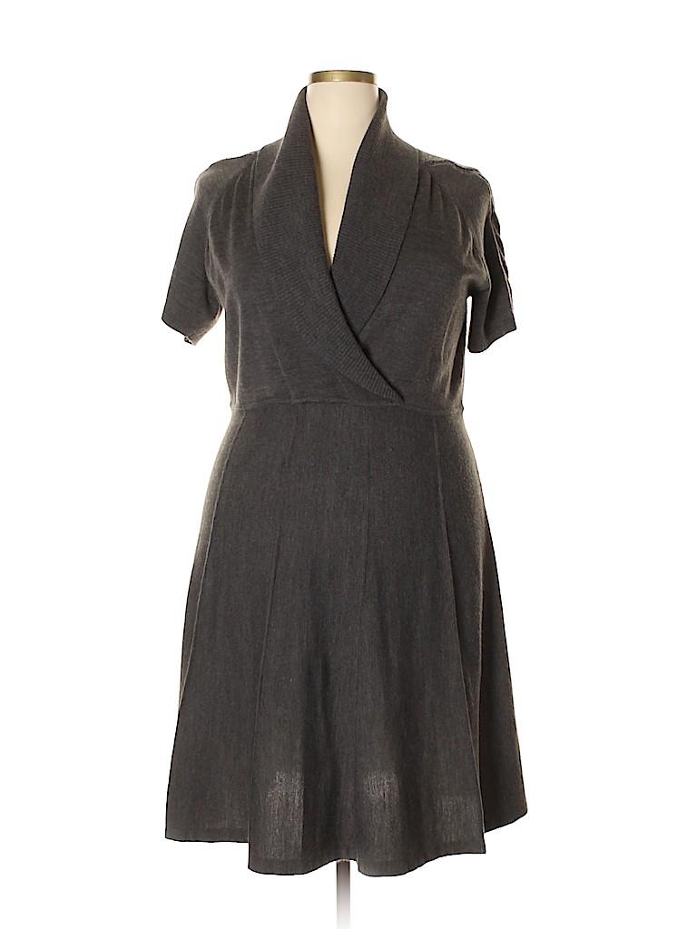 Jones Studio Women Casual Dress Size 2X (Plus)
