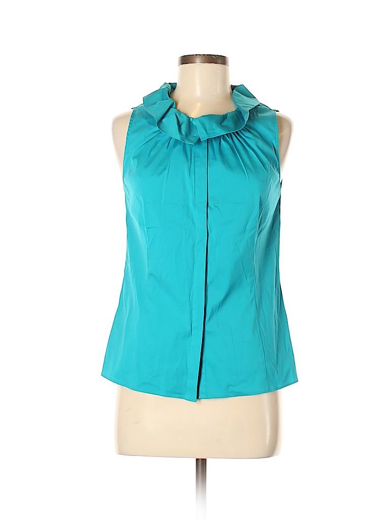 Lafayette 148 New York Women Sleeveless Blouse Size 6