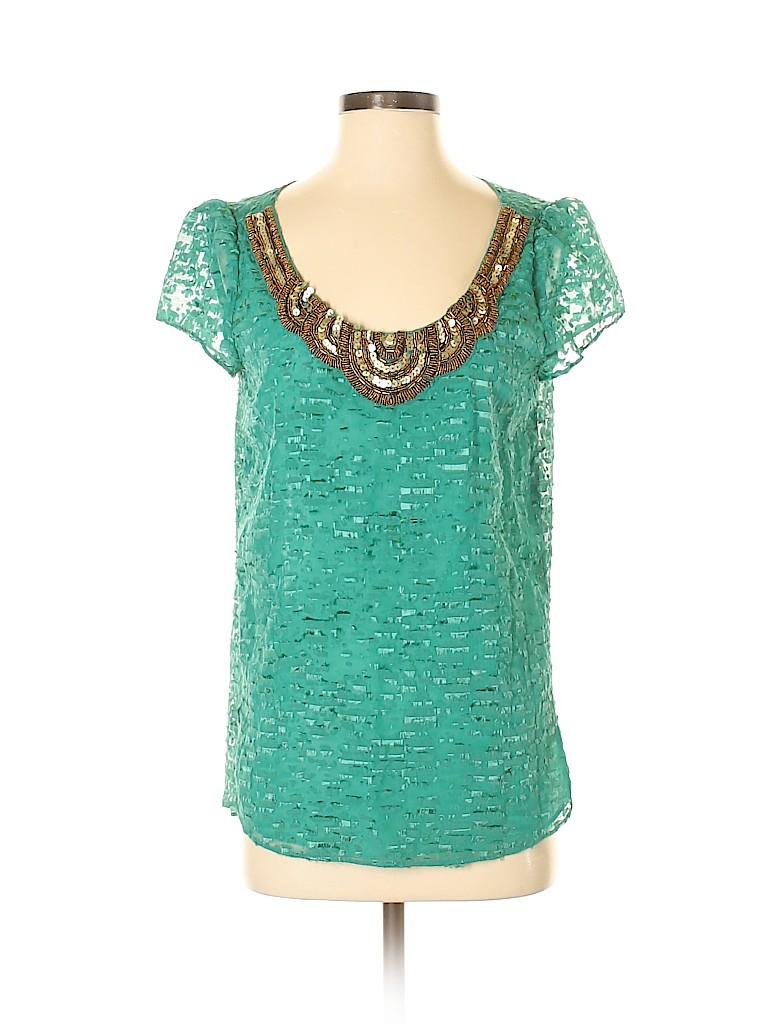 Assorted Brands Women Short Sleeve Blouse Size 4