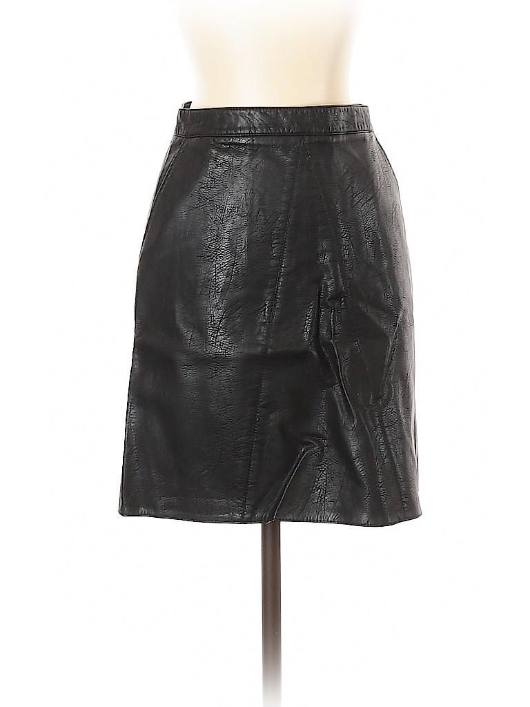 Zara Women Leather Skirt Size XS