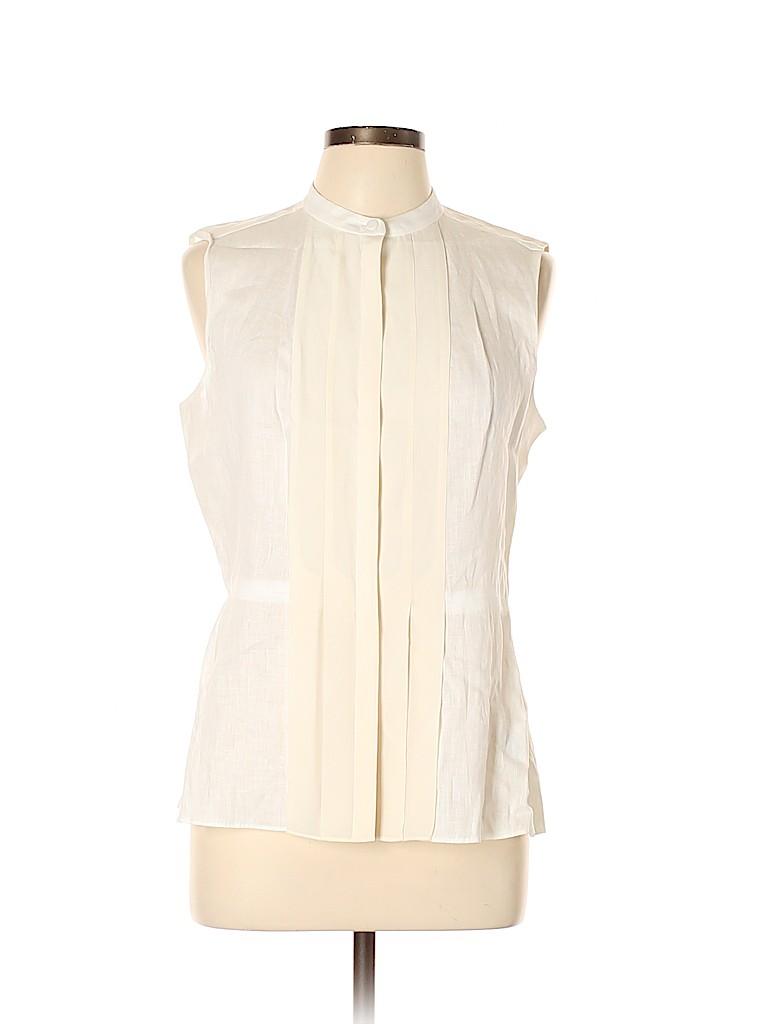 Tory Burch Women Sleeveless Silk Top Size 10