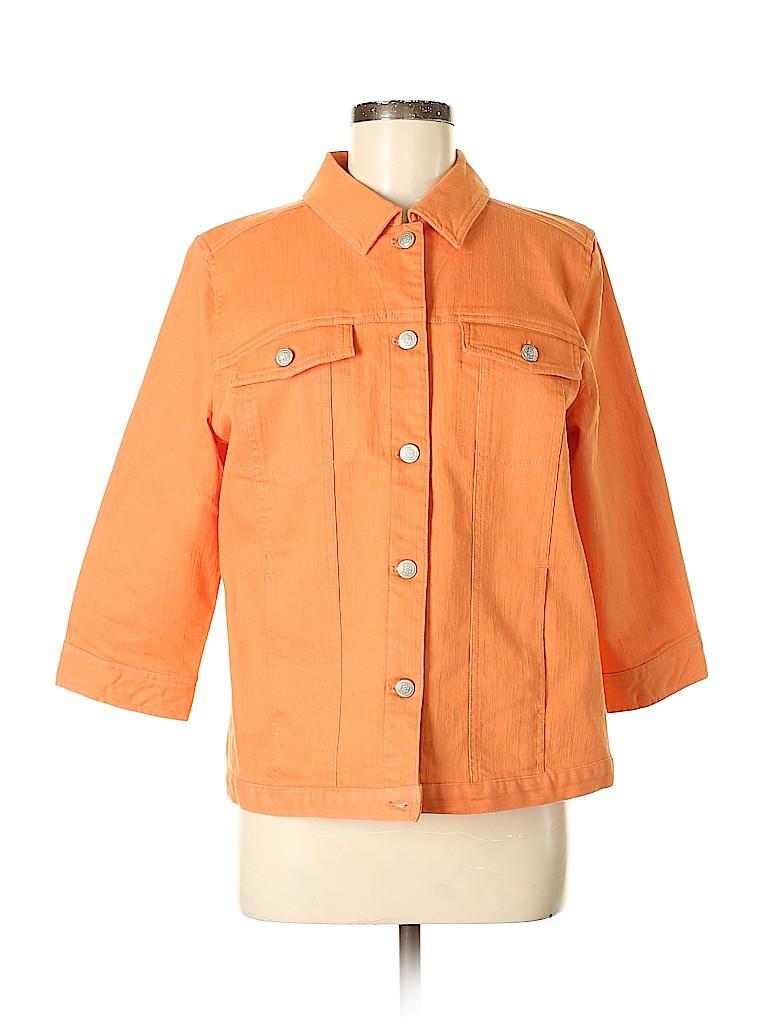Denim & Co Women Denim Jacket Size M