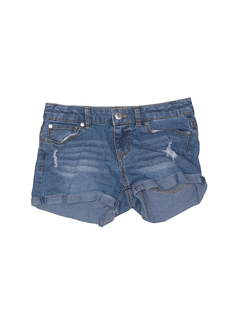 DKNY Girls Denim Shorts Size 10