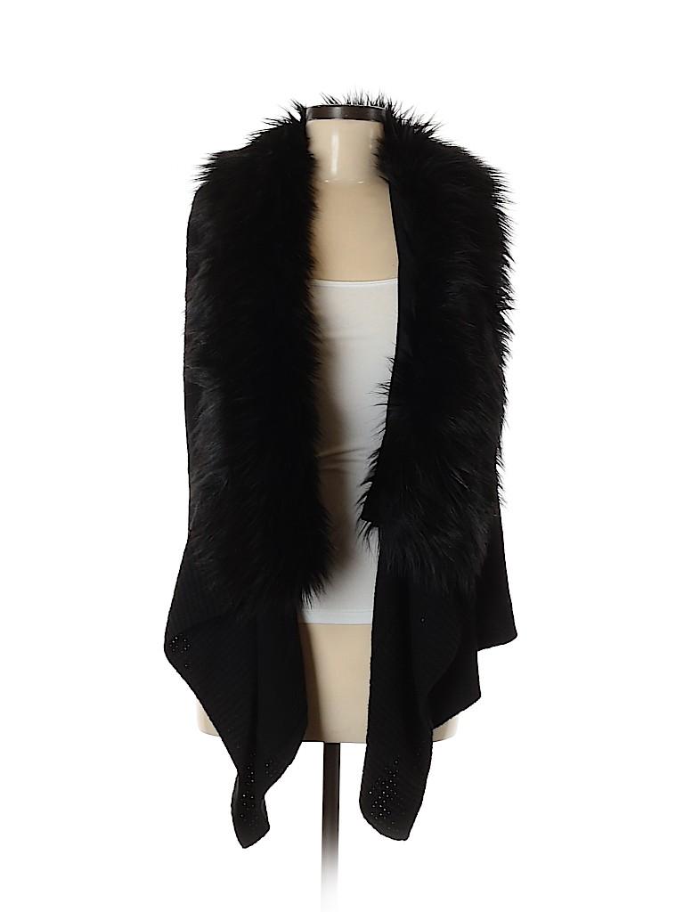 MICHAEL Michael Kors Women Faux Fur Vest Size M