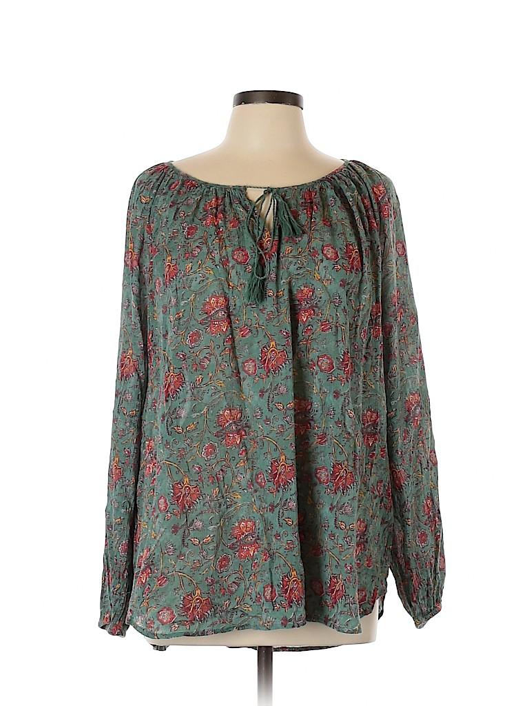 American Living Women Long Sleeve Blouse Size XL