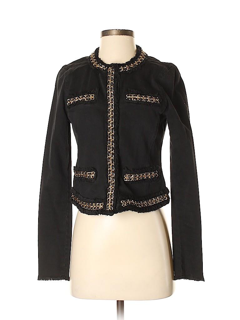 MICHAEL Michael Kors Women Denim Jacket Size 4