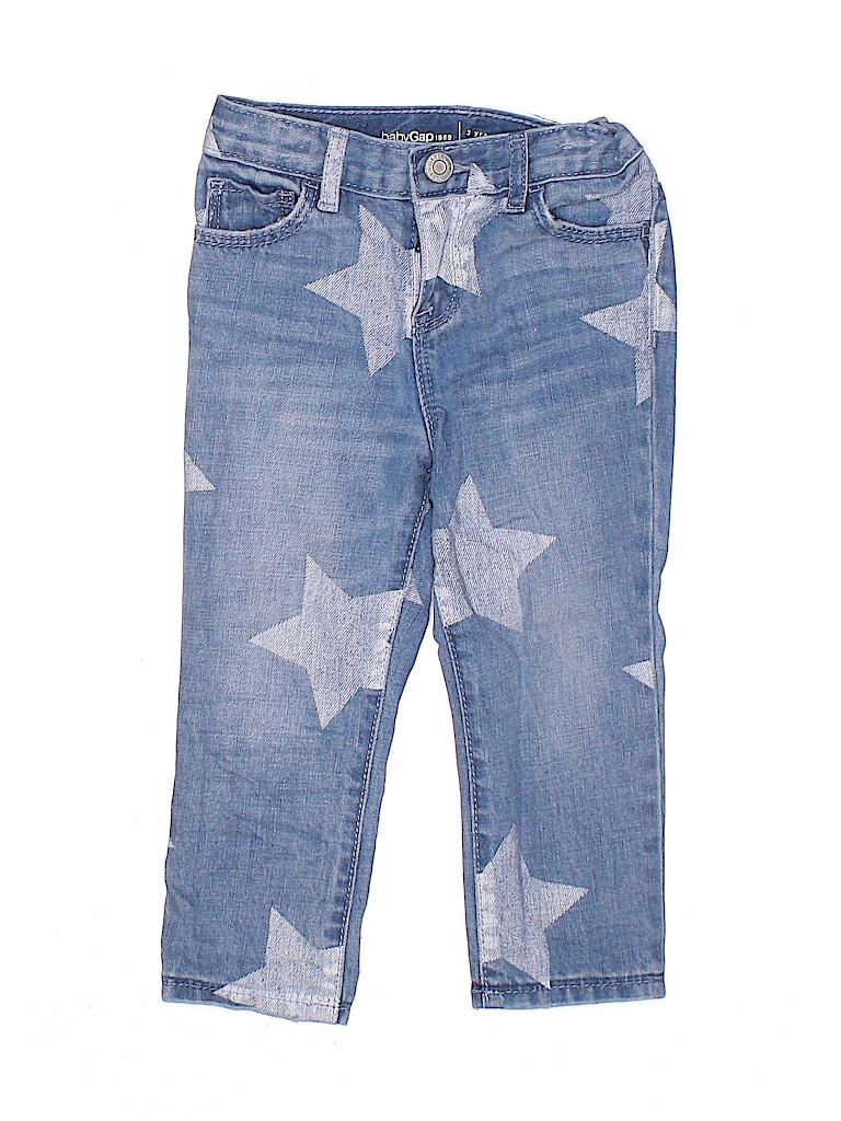 Baby Gap Girls Jeans Size 3