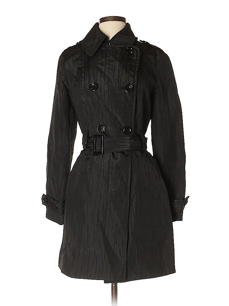 MICHAEL Michael Kors Women Trenchcoat Size S